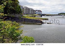 Quay Cottage Westport by Westport Quay County Mayo Ireland Stock Photo Royalty Free Image
