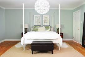 spacing out and hanging two pictures over the bed young house love