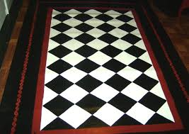 Checkered Area Rug Black And White Checkered Area Rug Home Design Ideas