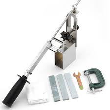 Whetstone For Kitchen Knives Newest Kme Sharpener Portable Rotation Chef Knife Sharpener System