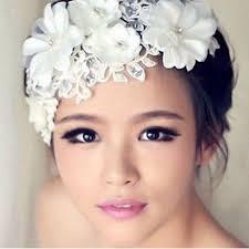 lace headwear 2017 bridal headwear hairpins handmade white lace silky flower