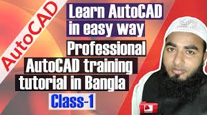 autocad tutorial professional autocad training tutorial in