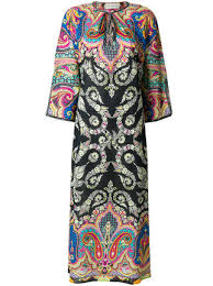 1 100 etro mixed print cover up buy fast