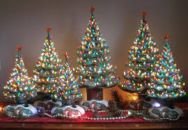 ceramic christmas tree ceramic christmas tree charming decorations with a vintage flair