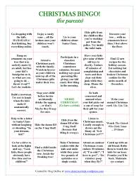 office christmas party games bingo christmas and accessories