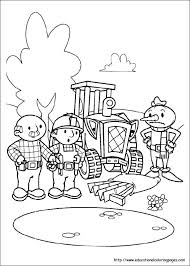 inspiration graphic bob builder coloring book children