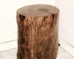 Tree Trunk Table Stump Table Real Cedar Log Furniture Stump Coffee Table