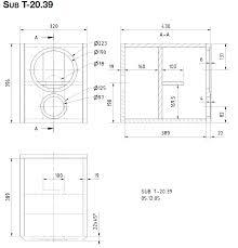 index of speaker box