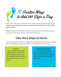 stay fit in your own home 12 creative ways to add 100 steps a day