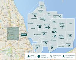 Map Of Chicago Suburbs Housing Forward Ending Homelessness With Housing Support U0026 Shelter