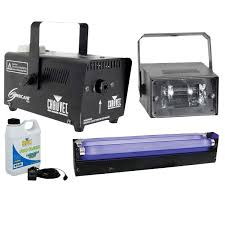 Halloween Fog Machine Chauvet Dj Blacklight Strobe And Fog Machine Dj Packages