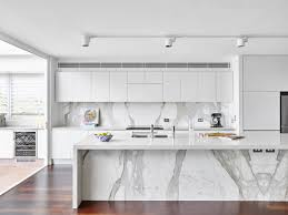 White Island Kitchen Marble And White Island Cherry Wood Floors Cabinets Outstanding