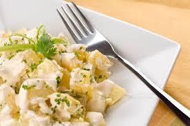 basic vegan potato salad recipe with vegan mayonnaise