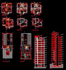 bloc autocad cuisine plan autocad d un immeuble d appartement de 12 étages dwg autocad