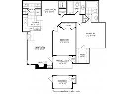 Two Bed Two Bath Floor Plans 1 2 Bed Apartments Hickory Highlands Apartments