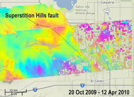 Map Of Baja California News California Faults Moved Quietly After Baja Quake