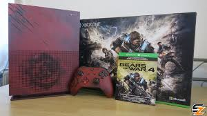 xbox one consoles and bundles xbox gears of war 4 xbox one s limited edition console bundle unboxing