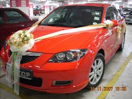 wedding car decorations mazzo di fiore