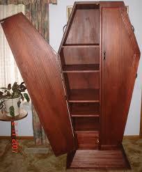 coffin bookshelf coffin entertainment unit 2 by auronvalentine on deviantart
