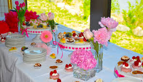 baby shower table decoration baby shower tableation ideas for girl