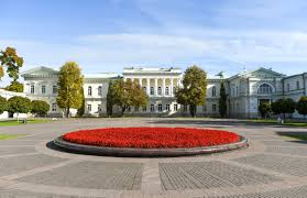 Flag Of Lithuania Picture Presidential Palace President Of The Republic Of Lithuania