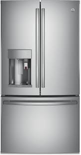 French Door Refrigerator Without Water Dispenser - keurig k cup french door refrigerators ge appliances