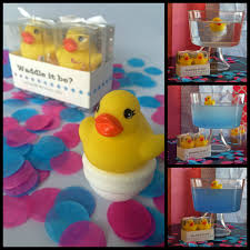 Duck Decorations Home Waddle It Be Gender Reveal Rubber Duck Fizz One Pink One
