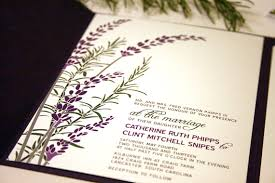 lavender wedding invitations sample lavender and rosemary wedding invitation 2223523 weddbook