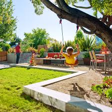 let your kids have fun with kid friendly garden design ideas