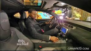camaro interior 2014 2014 chevrolet camaro ss revealed on morning television