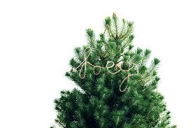 mr kate diy cursive string tree ornament