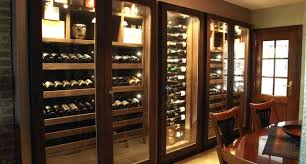 custom wine cabinet wenge wood 640 bottles contemporary
