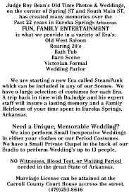 Eureka Bathtub Judge Roy Beans Old Time Photos And Weddings