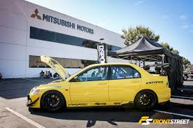 stanced mitsubishi galant mitsubishi owners day the 100th anniversary celebration of