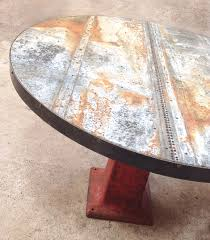 Zinc Bistro Table Zinc Topped Industrial Table Hacked By Mrsqar