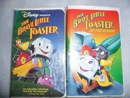 Brave Little Toaster Movie Disney The Brave Little Toaster To The Rescue Vhs Movie Rare