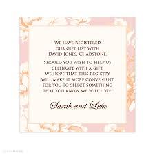 gift card registry wedding wedding invitation wording gift registry matik for