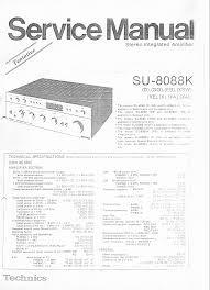 technics su a60 sm service manual download schematics eeprom