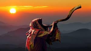 shofar trumpet shofar blowing prophetic act