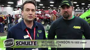 fx 1800 schulte rotary cutter testimonial from michael johnson