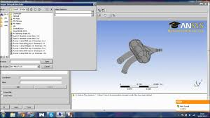 ansys 14 internal flow cfd tutorial youtube