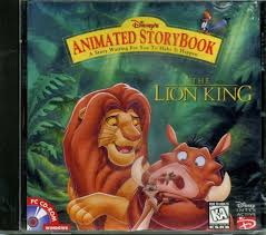 110 3457 disney u0027s animated storybook lion king video game