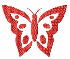 4 hobby com machine embroidery designs butterflies