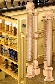 cabinet kitchen cabinet spindles best cabinets images crown