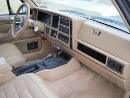 1991 jeep wagoneer interior build 1987 wagoneer xj limited international full size jeep