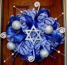 welcome hanukkah hanukkah pinterest hanukkah wreaths and star hanukkah wreath with star of david example by fabracadabradesigns