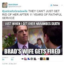Brad Meme - fired cracker barrel manager brad s wife becomes internet meme