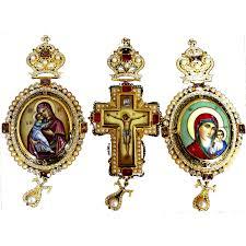 pectoral crosses for sale patriarchal set pectoral cross encolpia evagelidis d ilias
