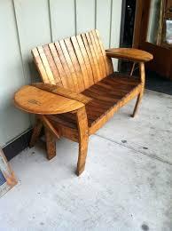 wine barrel chairs wine barrel double chair u2013 sharedmission me