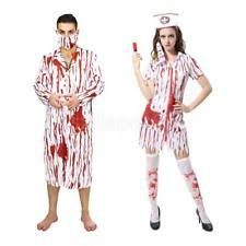 Bloody Doctor Halloween Costume Polyester Doctor U0026 Nurse Uniform Costumes Ebay